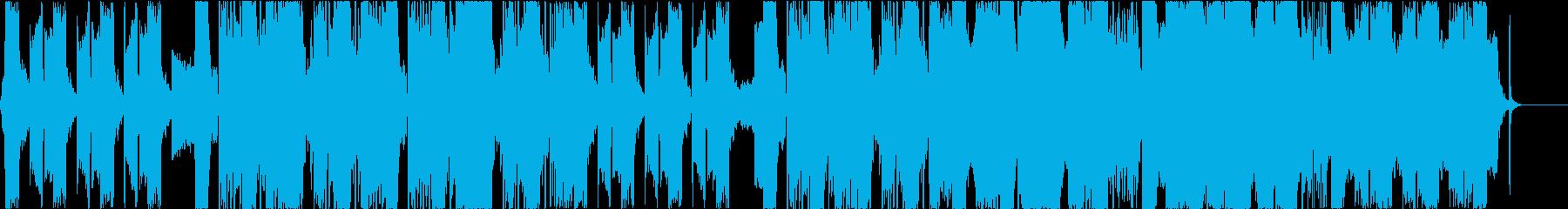 スタイリッシュで情緒的なヒップホップの再生済みの波形