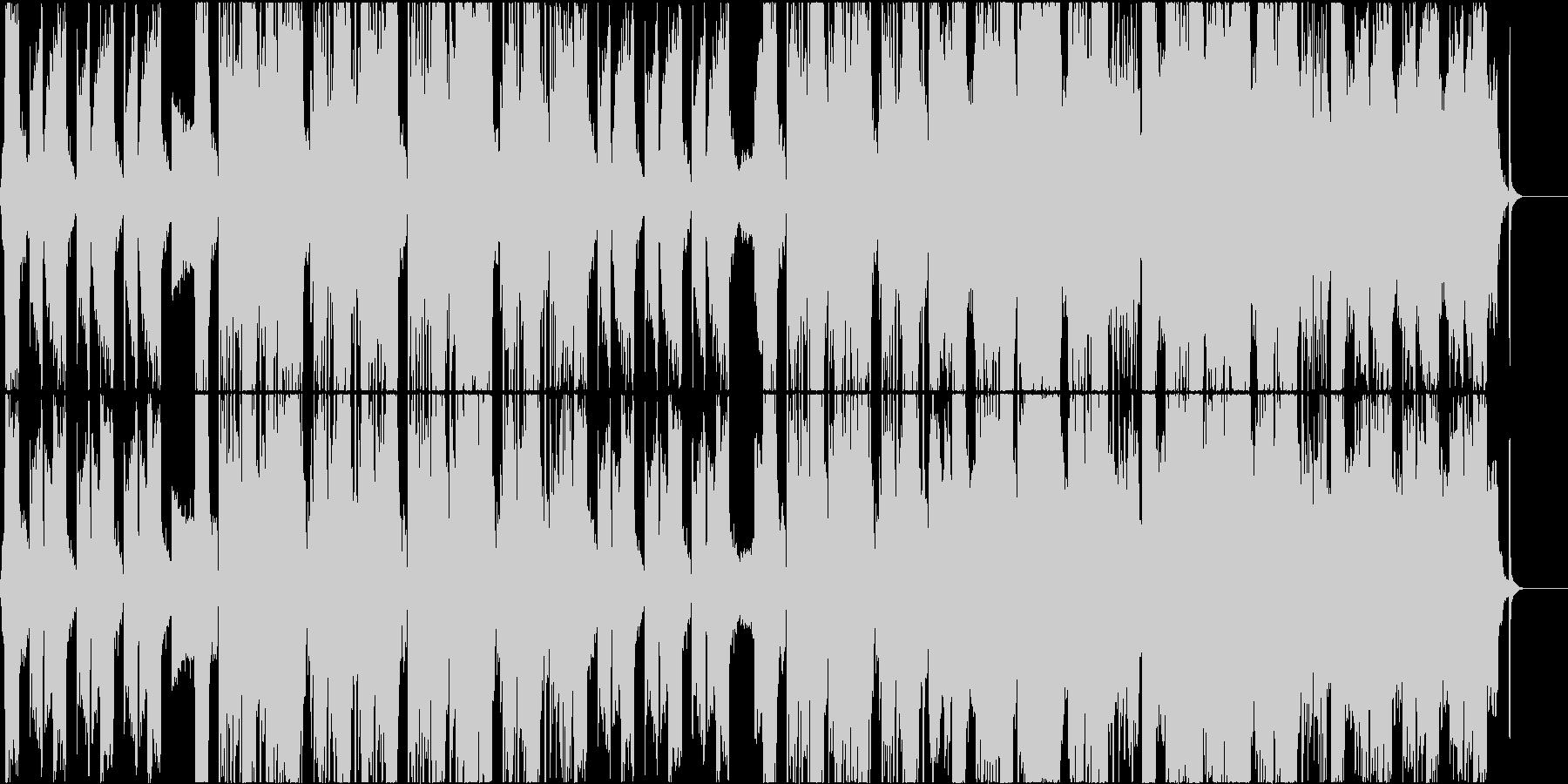 情緒的なコーラスのヒップホップ CM等にの未再生の波形