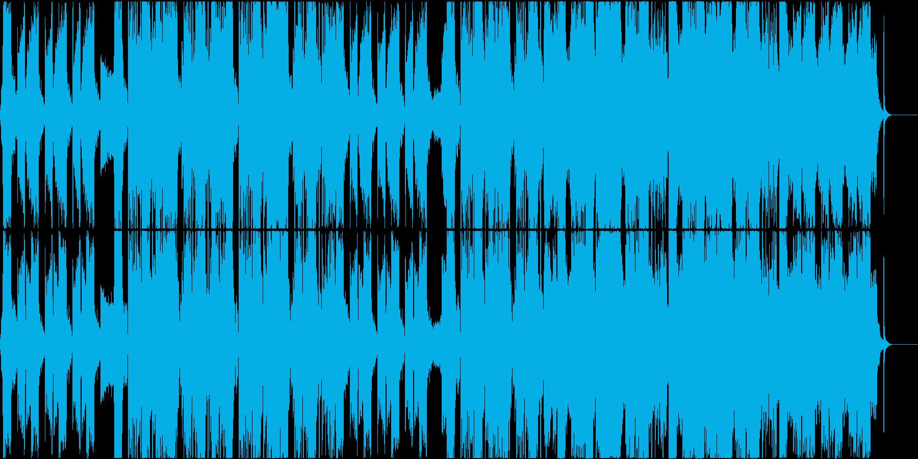 情緒的なコーラスのヒップホップ CM等にの再生済みの波形
