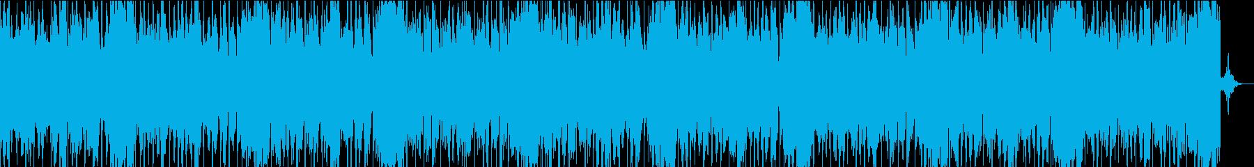 浮遊感のあるビートですの再生済みの波形