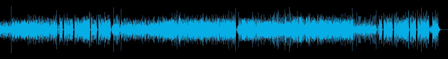 オルガンとサックスのインストゥルメ...の再生済みの波形