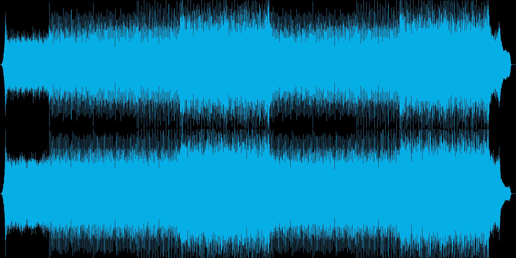 企業VP系58、爽やかピアノ、4つ打ちaの再生済みの波形
