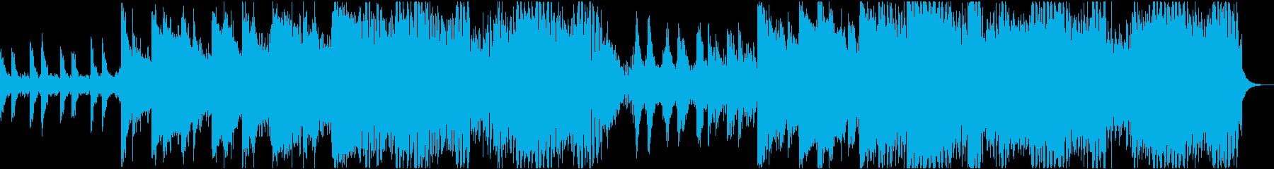 流行りのPROGRESSIVE HOUEの再生済みの波形