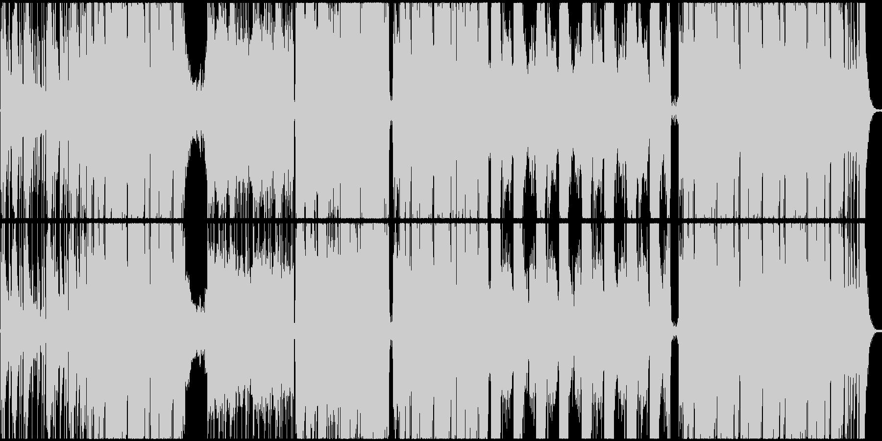 ティーン ポップ テクノ ハウス ...の未再生の波形