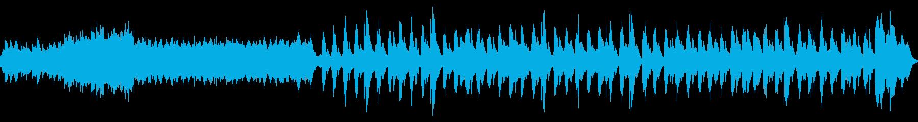 ウエディングの風景の再生済みの波形