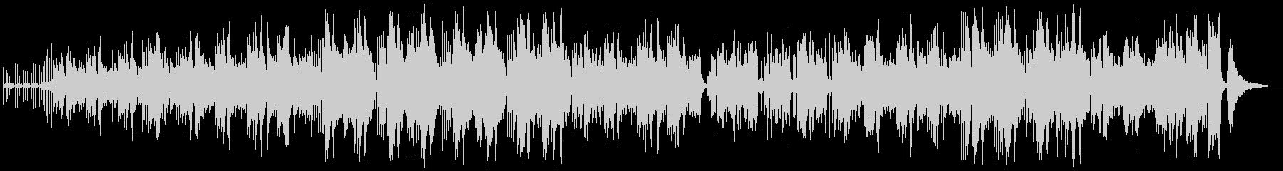 ラテンのリズムでpf、ギターなどがメインの未再生の波形