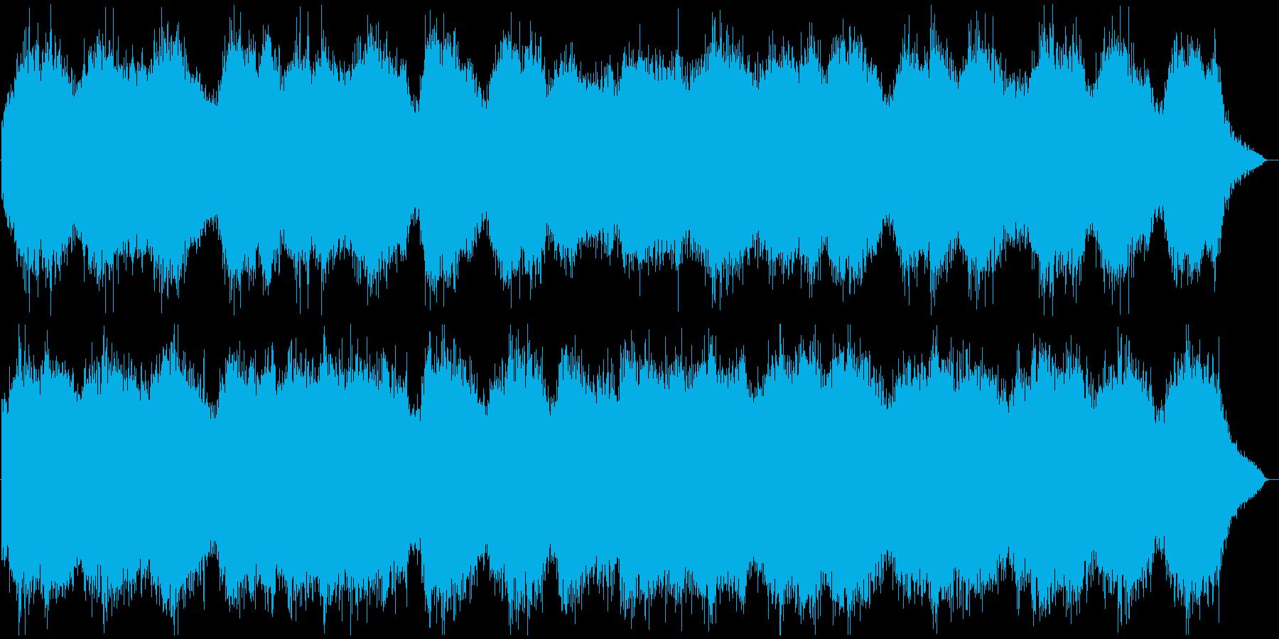 ★地獄や異世界に流れていそうな環境音★の再生済みの波形