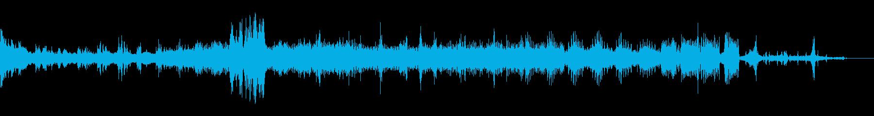Space Fx:ドロイドの機能不全の再生済みの波形
