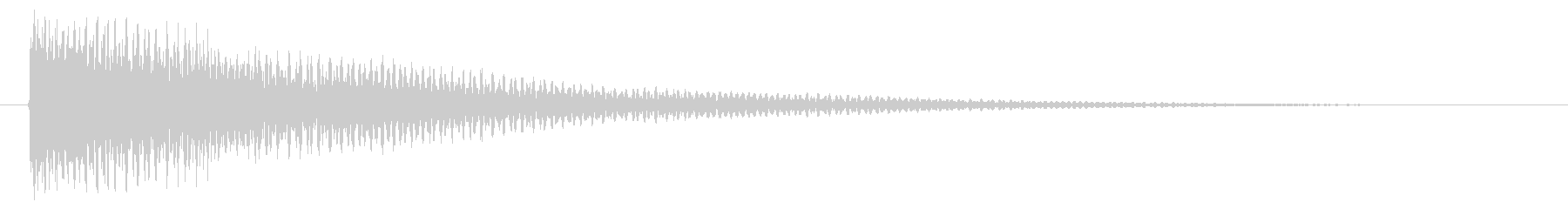 ティーンの未再生の波形