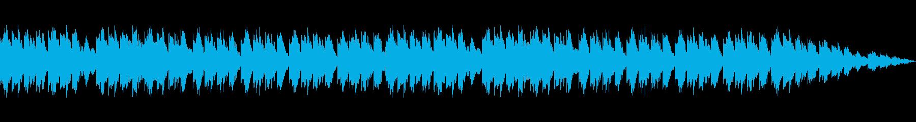 癒しの雰囲気たっぷりのオルゴールBGMの再生済みの波形