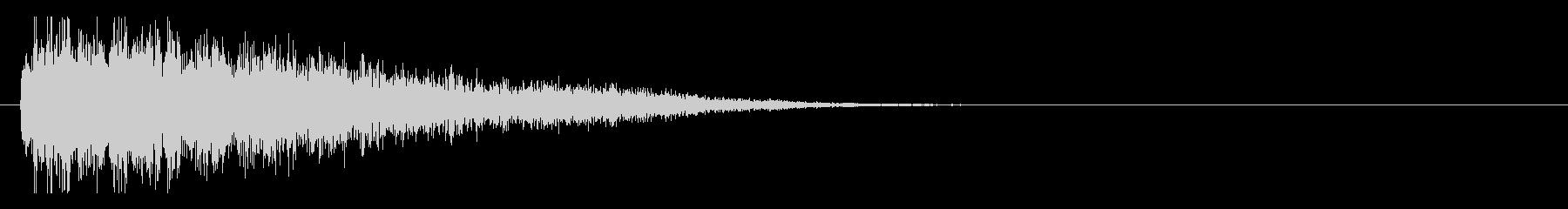 サスペンスピアノ音_2-2の未再生の波形