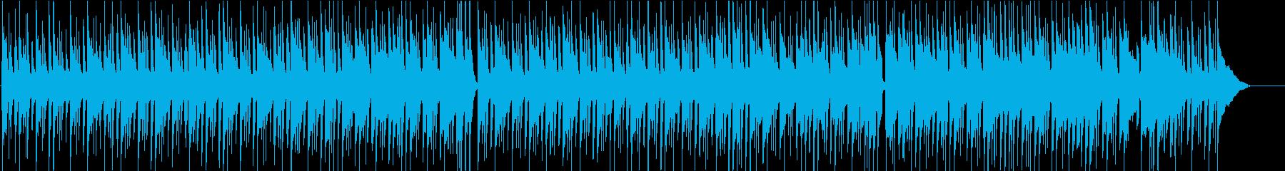 ほのぼの日常系リコーダーソングの再生済みの波形