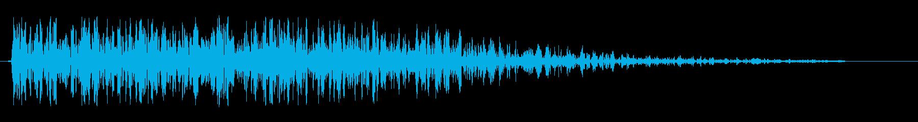 ドンジャン(クイズの出題)の再生済みの波形