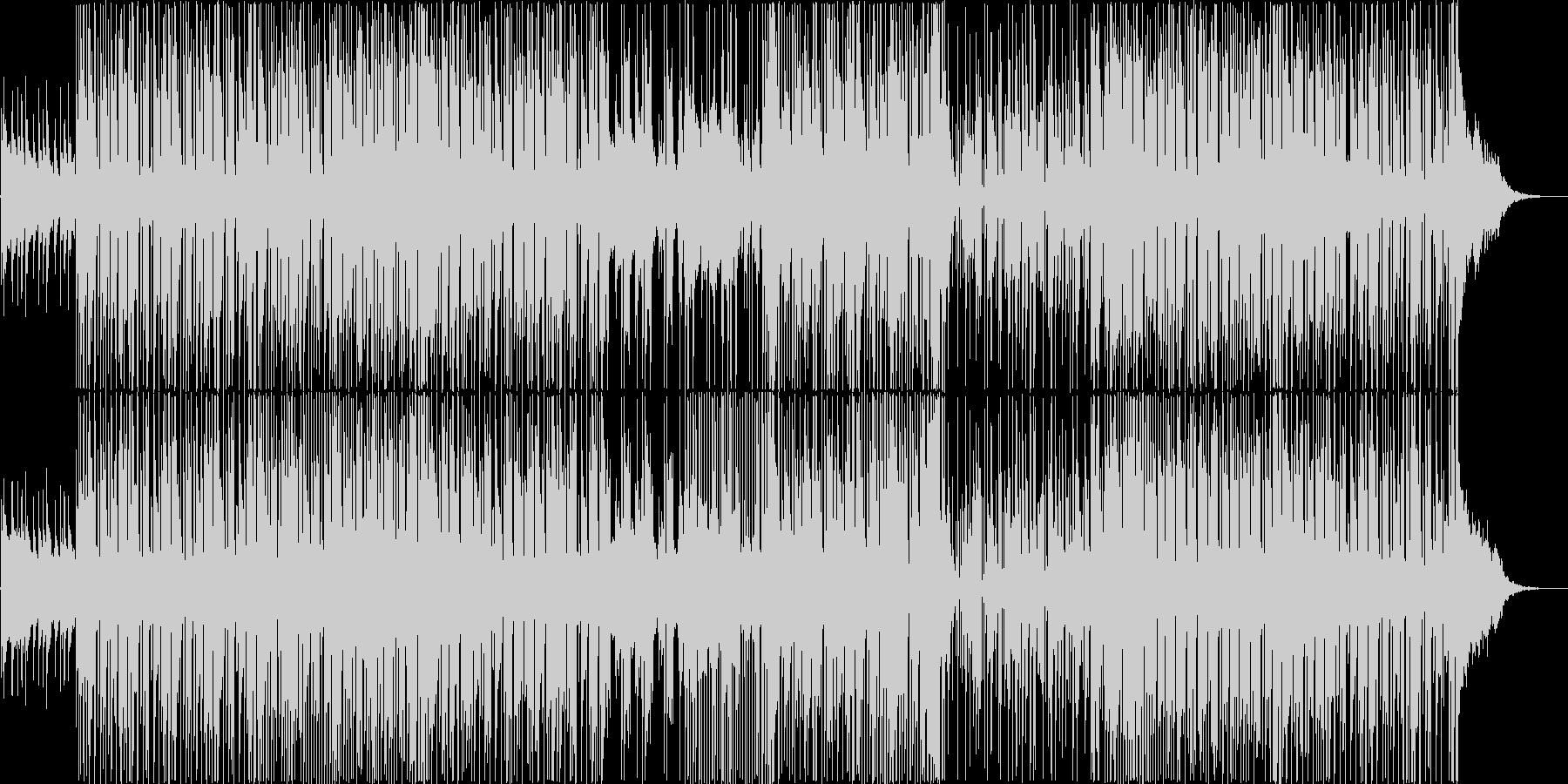 和楽器をポップス風アレンジにしました。の未再生の波形
