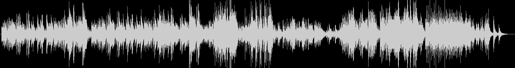 しっとりと揺らぐピアノサウンドの未再生の波形