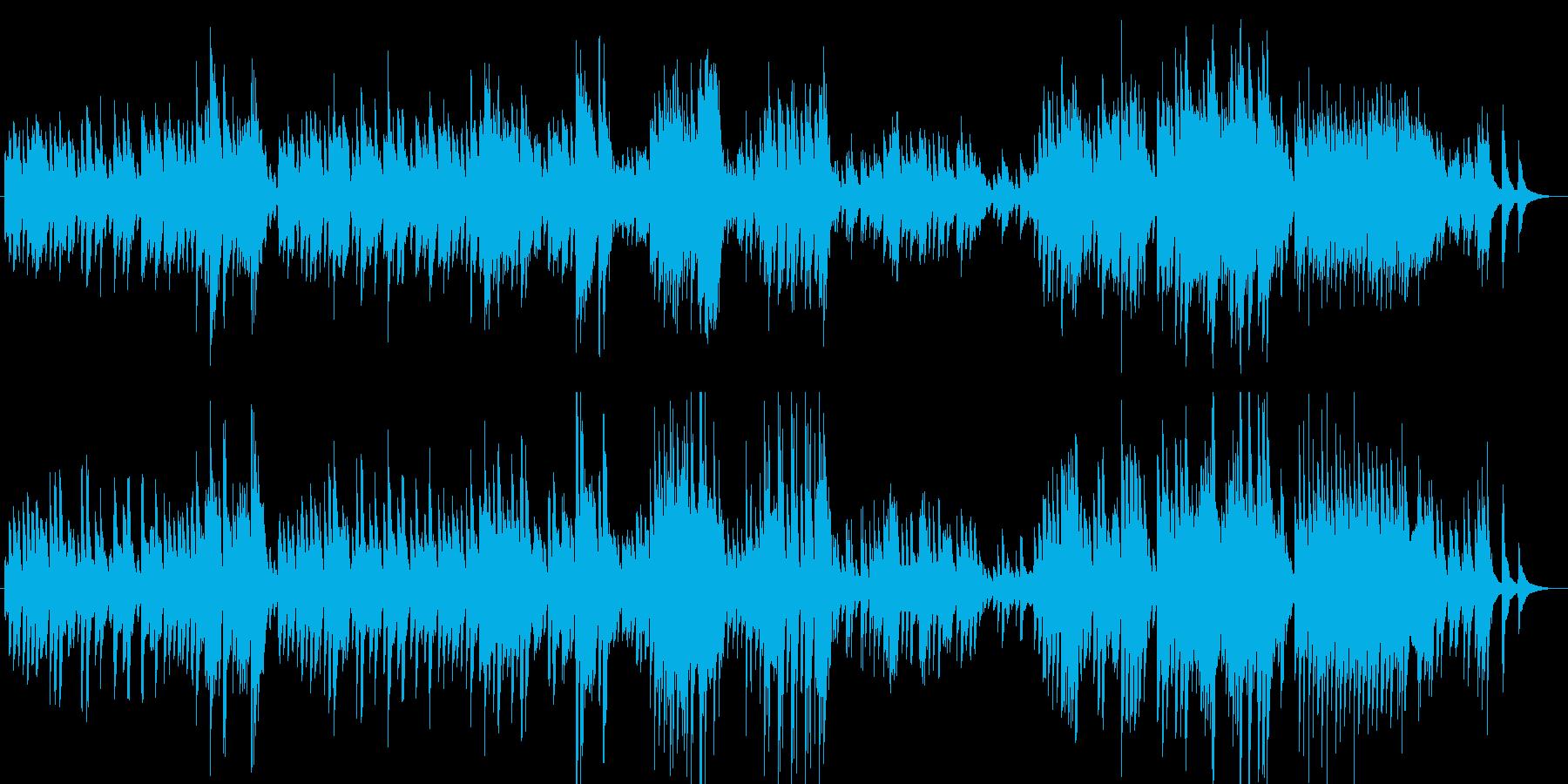 しっとりと揺らぐピアノサウンドの再生済みの波形