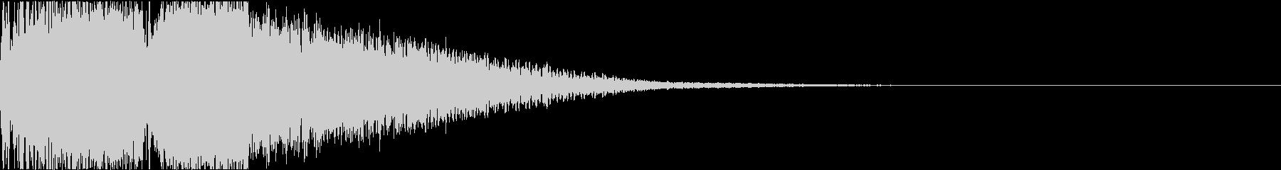 攻撃 スマッシュ シャキーン 魔法 01の未再生の波形