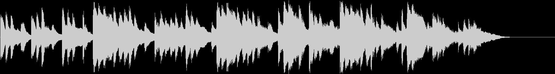 切ないシーンのRPG系オーケストラBGMの未再生の波形