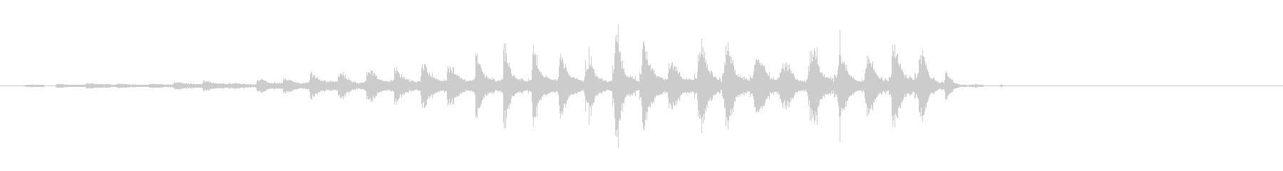 音侍「チャッパ」和製シンバルのフレーズ1の未再生の波形