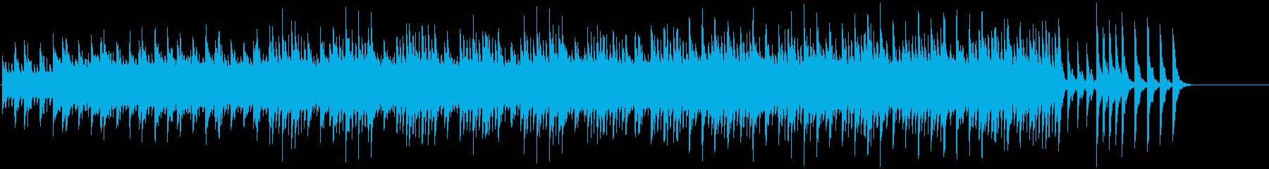 浮遊感のあるドキュメント風環境/BGの再生済みの波形