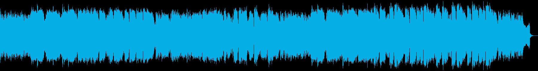 ピアノ管楽器による明るめの演歌風Popsの再生済みの波形