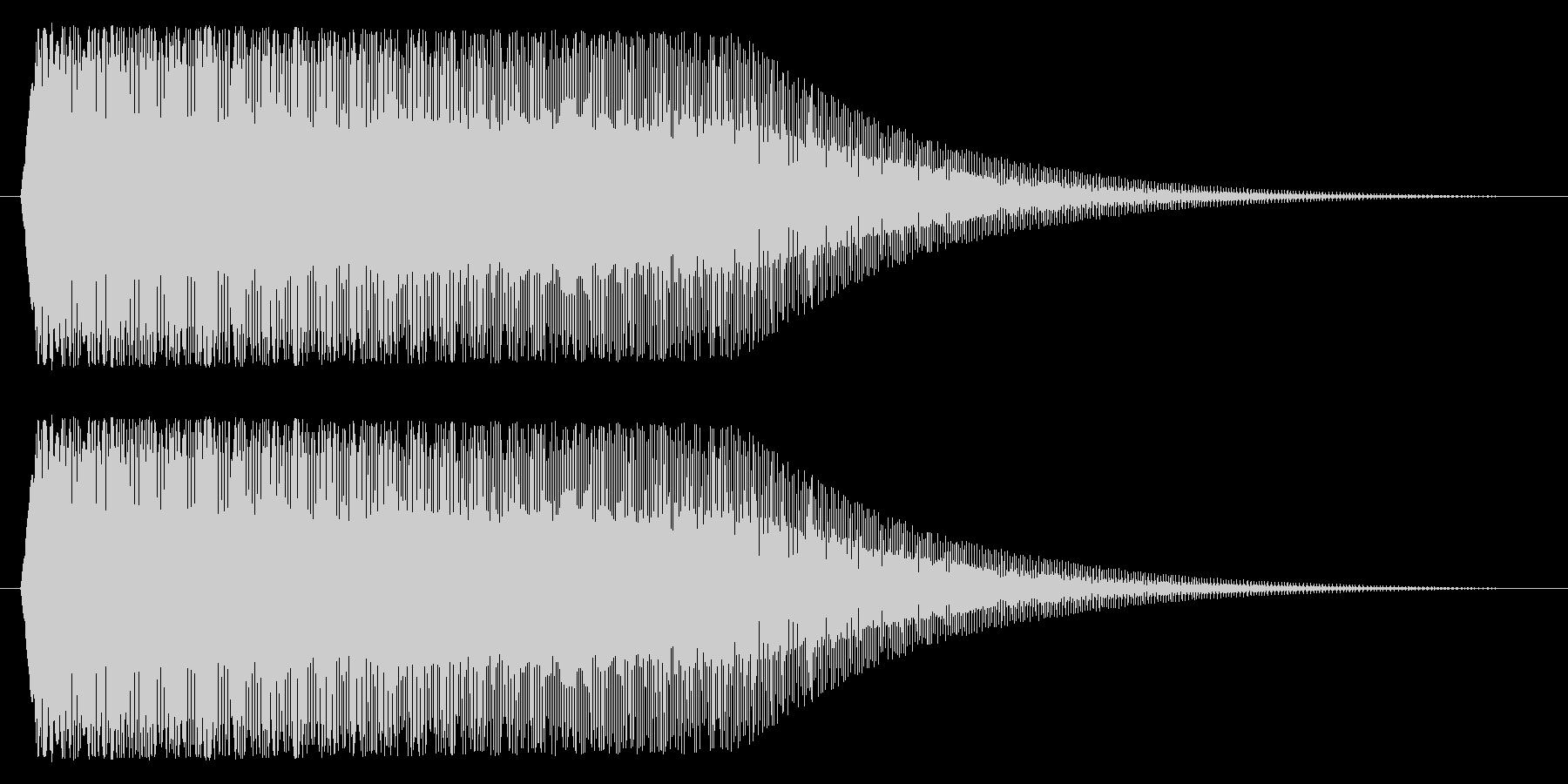 下降/パワーダウン/メーターの未再生の波形