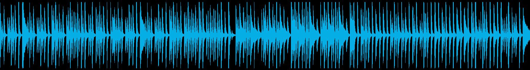 ほのぼのとした日常のピアノ曲(ループ可)の再生済みの波形