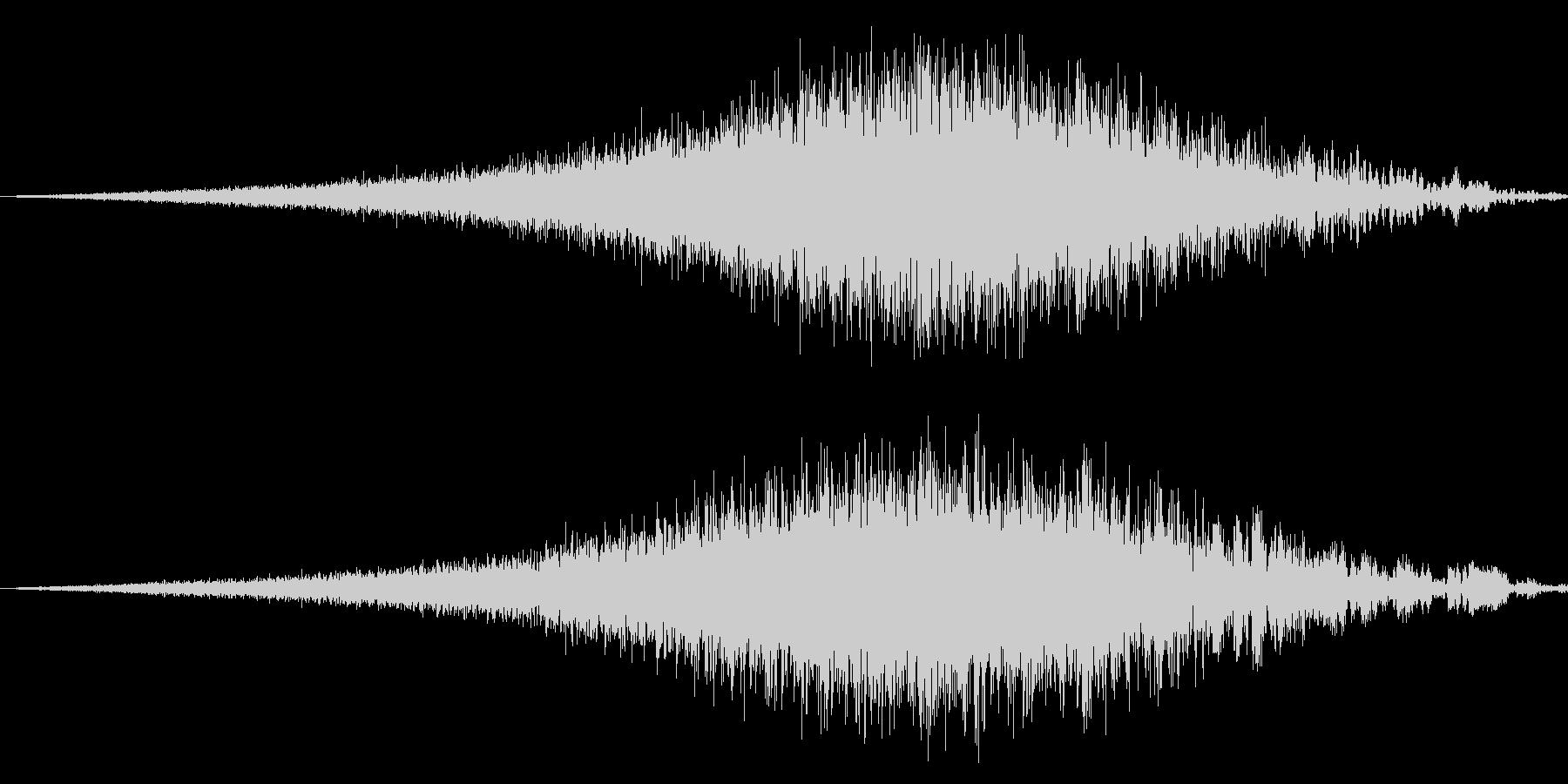 FMラジオジングル制作にピッタリな効果音の未再生の波形