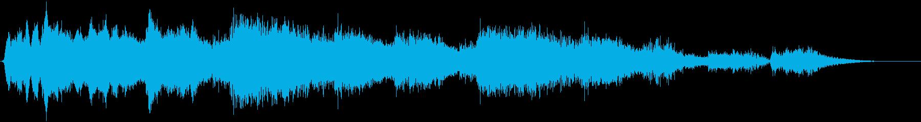 メタリックムービングテクスチャメタ...の再生済みの波形