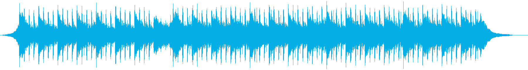 ソフト企業バックグラウンド(60秒)の再生済みの波形