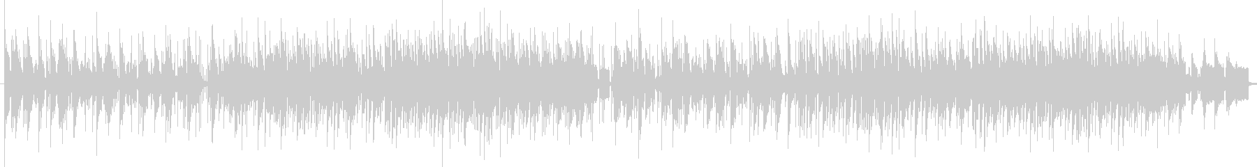 Fashionable and chic melody's unreproduced waveform