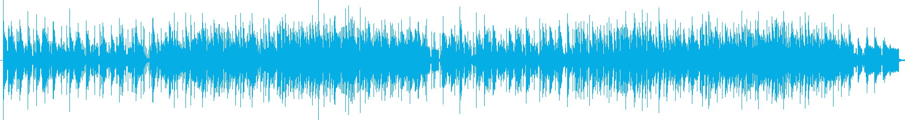 Fashionable and chic melody's reproduced waveform