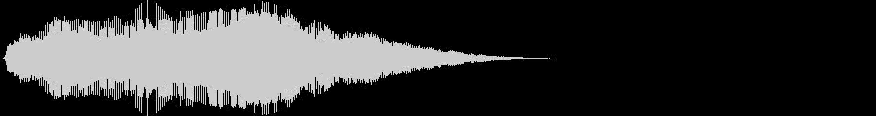 ダークな雰囲気_Eの未再生の波形