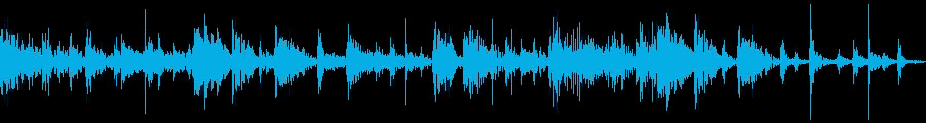 短ループ・ジプシー風ギター・ゲームの再生済みの波形
