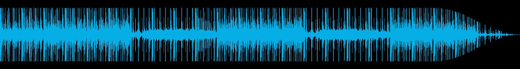 近未来的な日常を感じさせる音楽の再生済みの波形