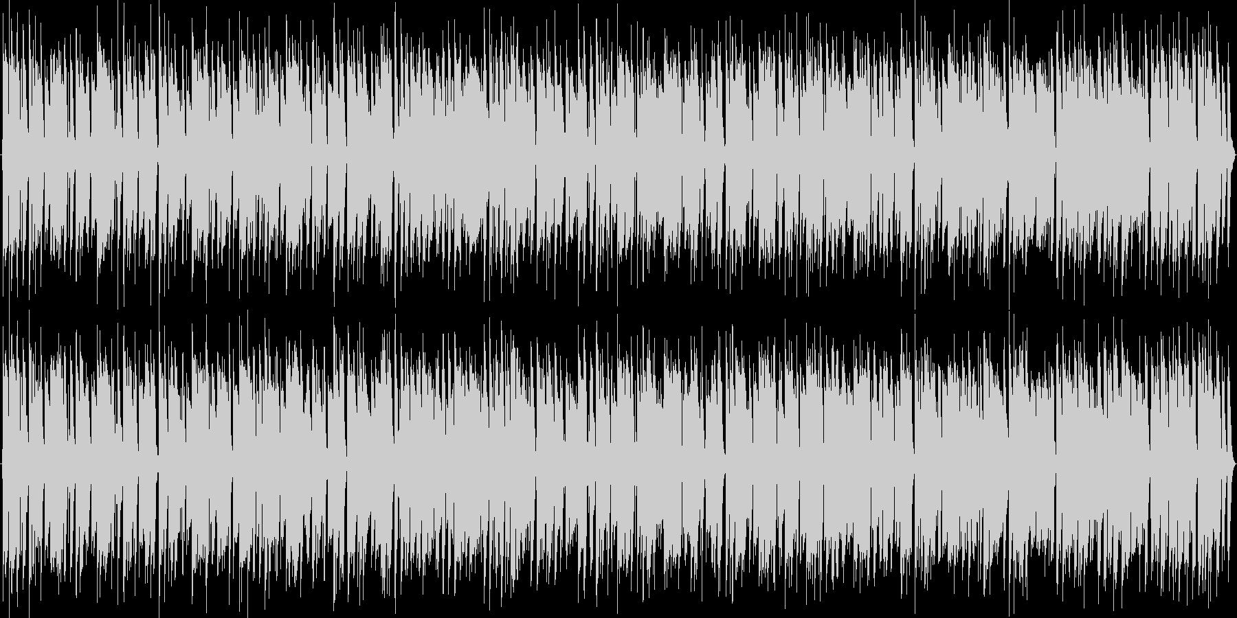アコギだけで奏でるハッピーラグタイムの未再生の波形