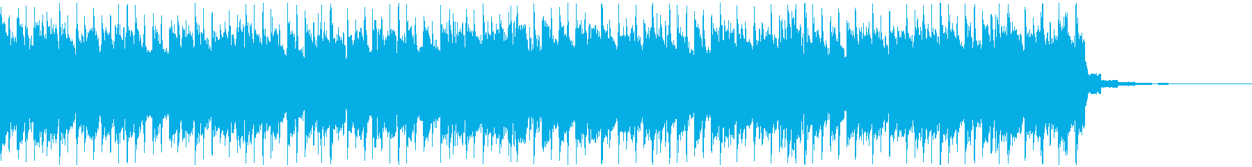 映像やCM/お洒落で爽快なピアノハウス3の再生済みの波形