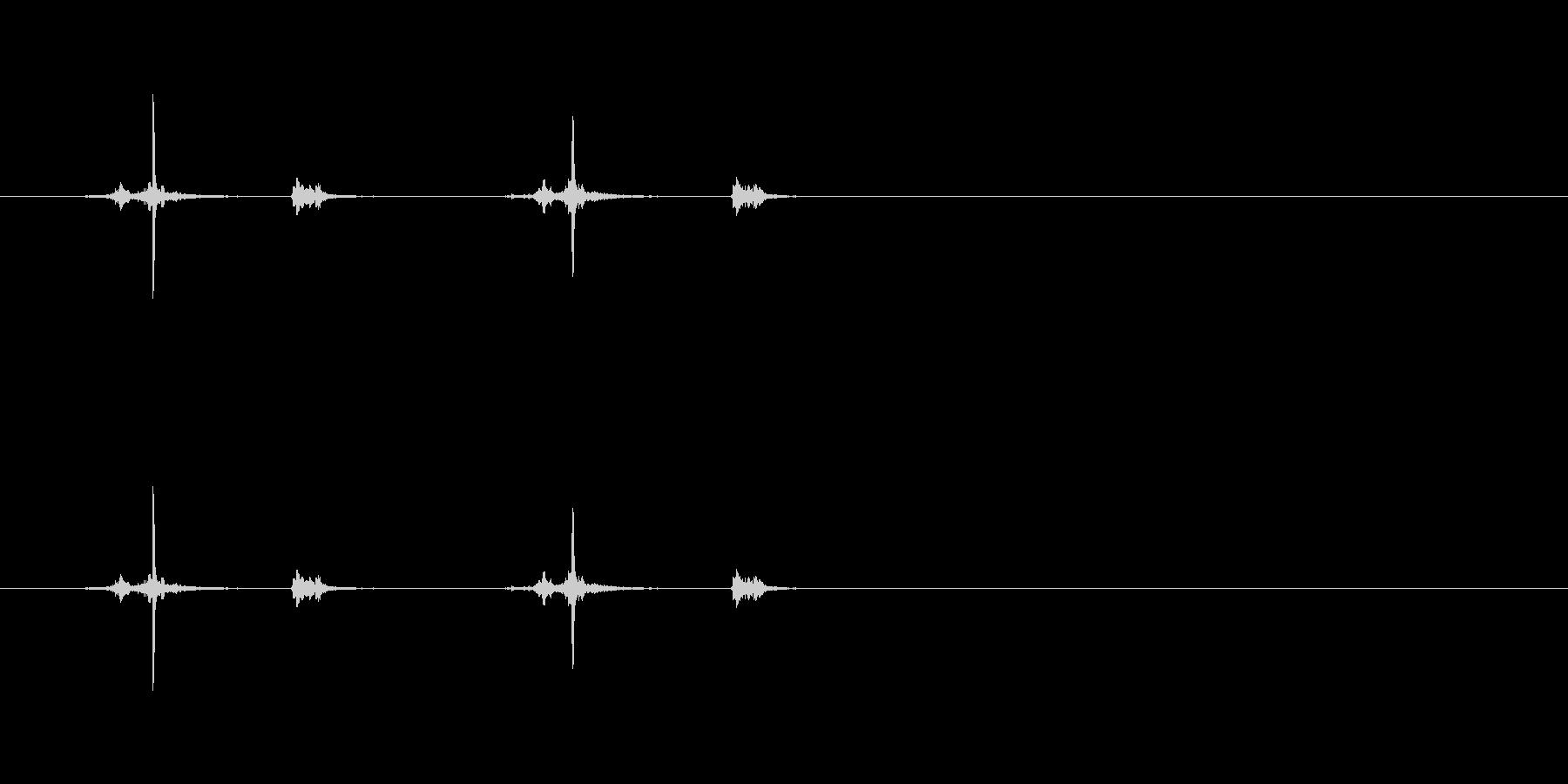 【ハサミ03-5(チョキチョキ)】の未再生の波形