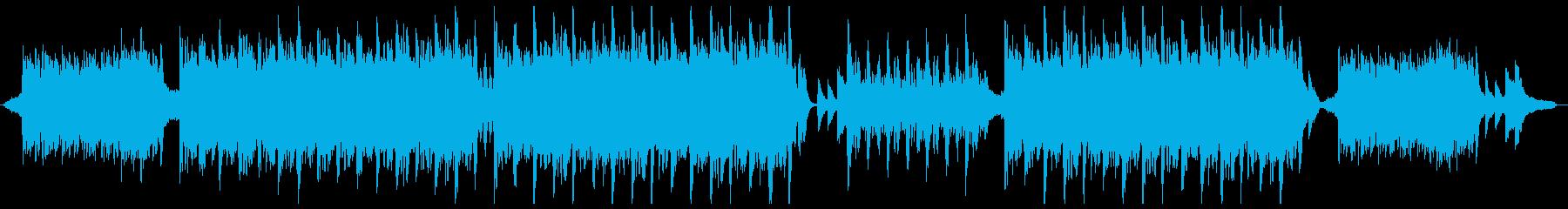 カジュアルなバイオリンポップ:メロディ抜の再生済みの波形