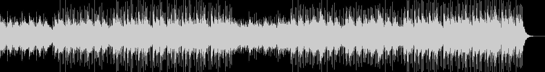 のんびりシンプルBGMの未再生の波形