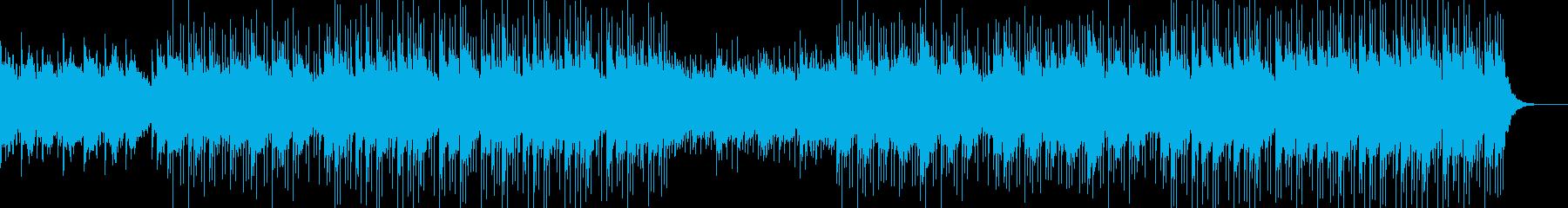 のんびりシンプルBGMの再生済みの波形