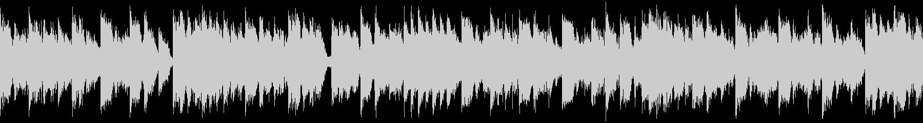 【ループ】速めテンポのかわいいEDMの未再生の波形