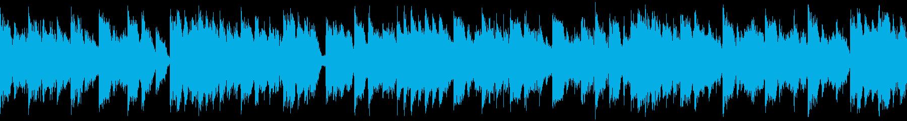 【ループ】速めテンポのかわいいEDMの再生済みの波形