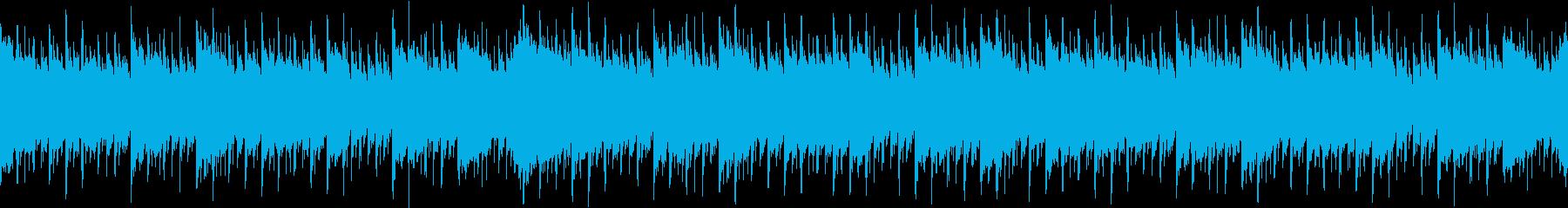 企業VPや映像に爽やかギター (ループ)の再生済みの波形