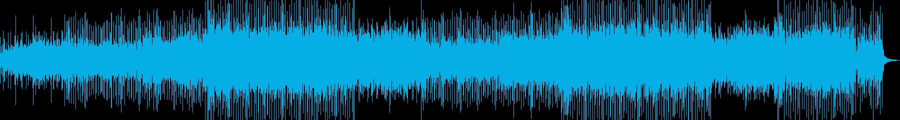 背景をポップします。アルペジエーターの再生済みの波形