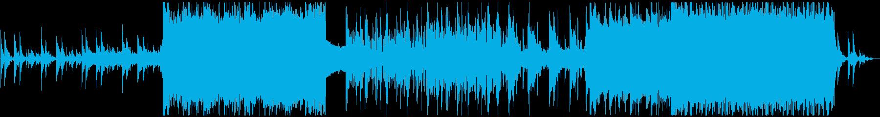 切ない・美しい・ダーク・壮大BGMの再生済みの波形