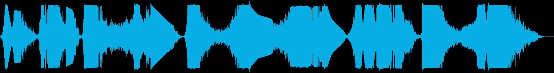 メタルヒット、メタリックスウィッシ...の再生済みの波形