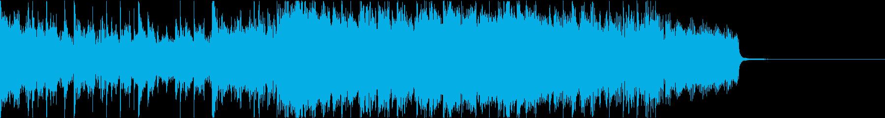 バンドサウンドが爽やかなポップインストの再生済みの波形