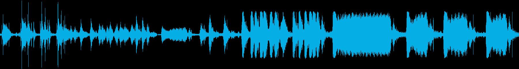 モーターのオフサステインスイッチの再生済みの波形