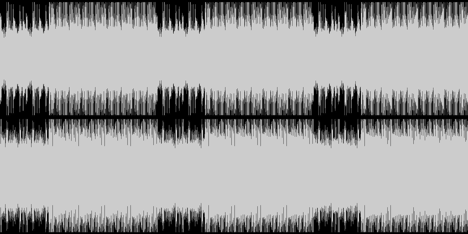 【高級感を演出するストリングス/ループ】の未再生の波形